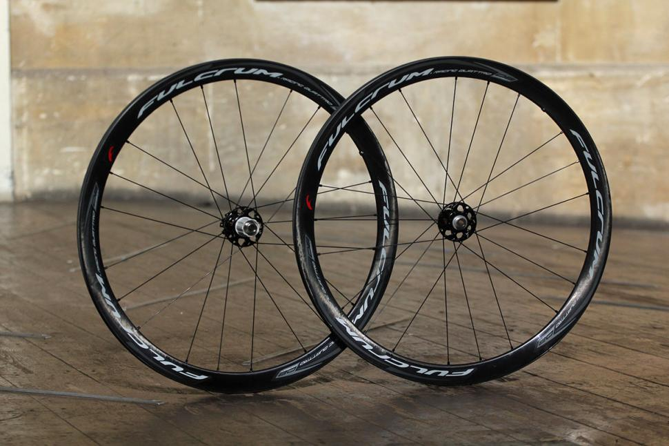 review fulcrum racing quattro carbon db wheelset. Black Bedroom Furniture Sets. Home Design Ideas