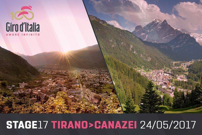 Giro d'Italia 2017 start finish Stage 17.jpg