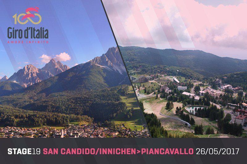 Giro d'Italia 2017 start finish Stage 19.jpg