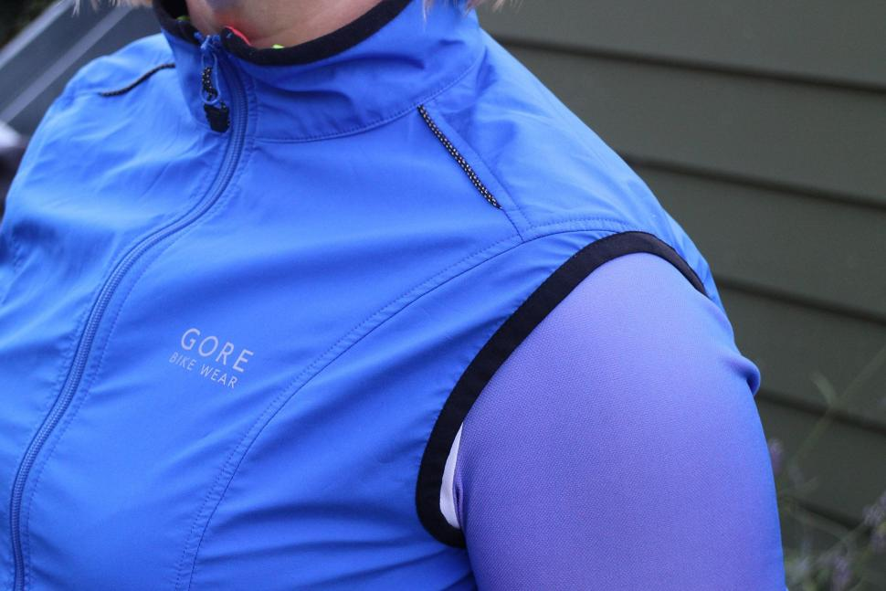 Review Gore Element Lady Windstopper Active Shell Vest