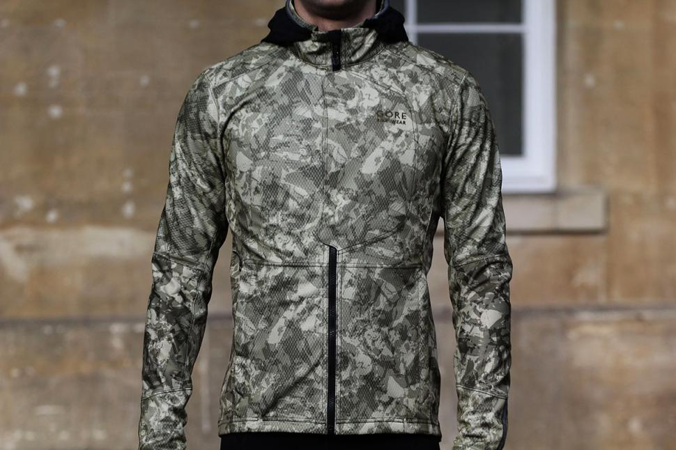 Review Gore Element Urban Print Windstopper Soft Shell