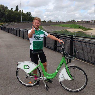 Harry Mytton with CityBike (via Twitter).jpg