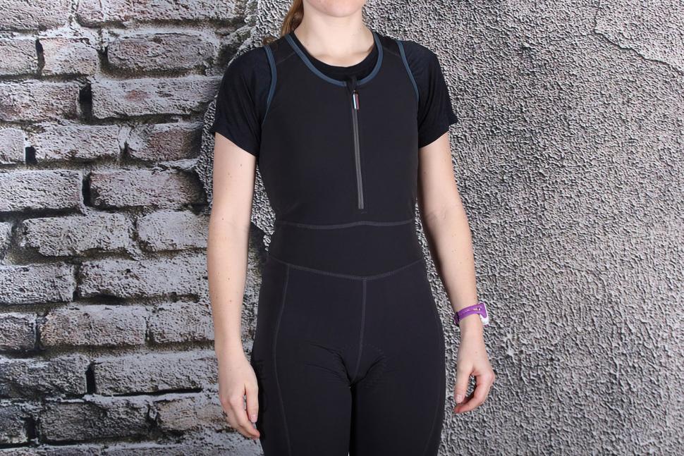 HOY Vulpine Womens Roubaix Bib Tight - straps front.jpg