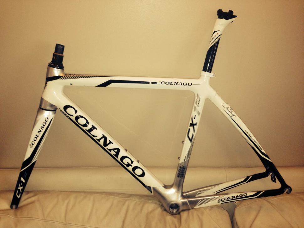 For Sale Colnago Cx 1 Evo Frameset White 1450 00 Road Cc