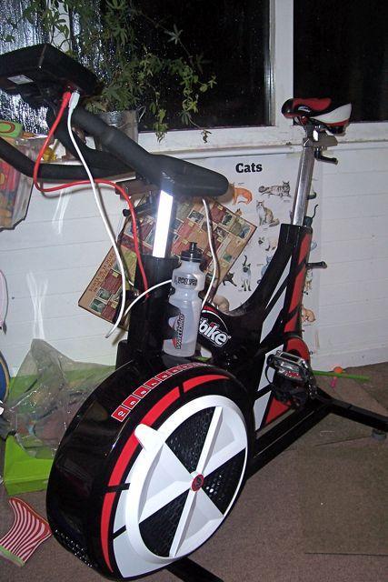 Wattbike in the playroom