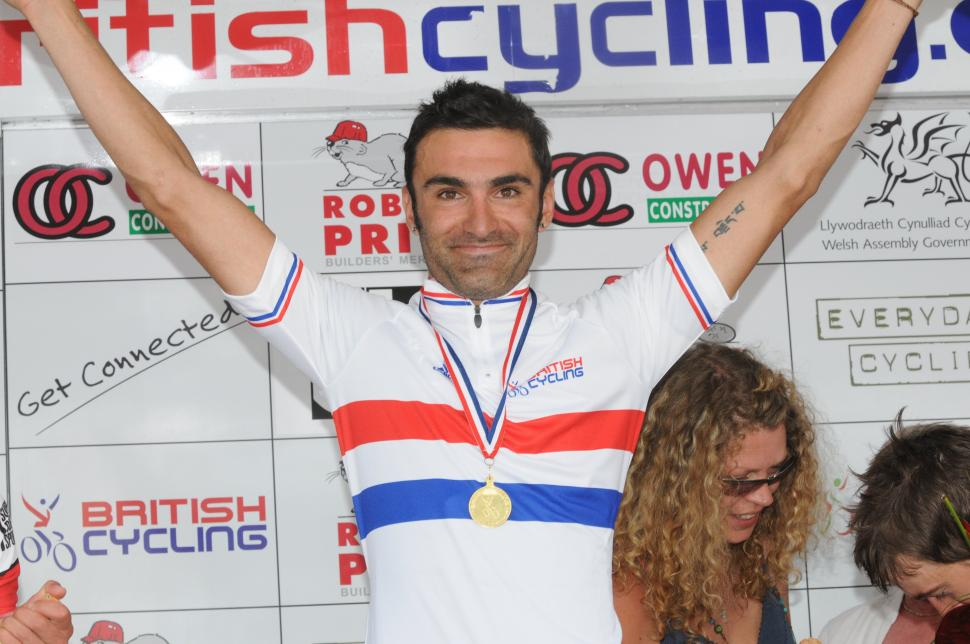 Kristian House 2009 British Road Race Champion pic: www.britishcycling.org.uk