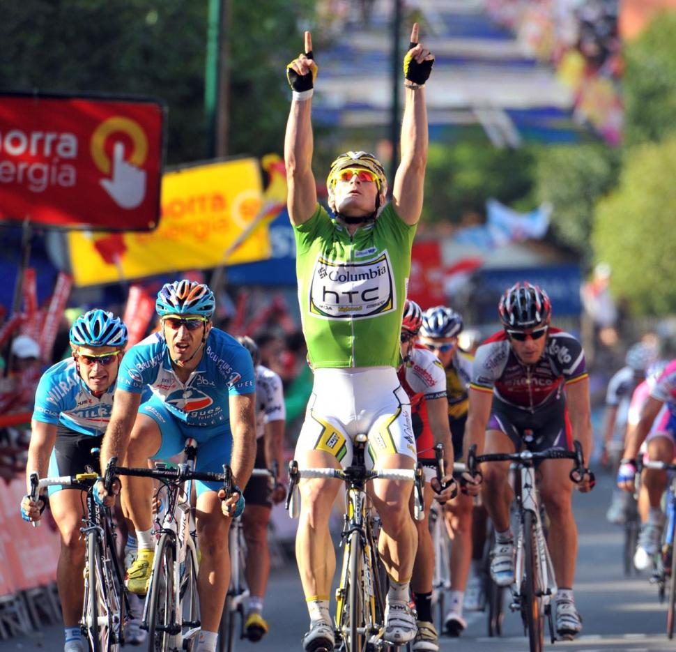 André Greipel gets his third stage win of the 2009 Vuelta © Unipublic