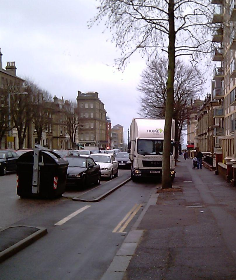 Brighton cycle lanes on Grand Avenue and The Drive.jpg