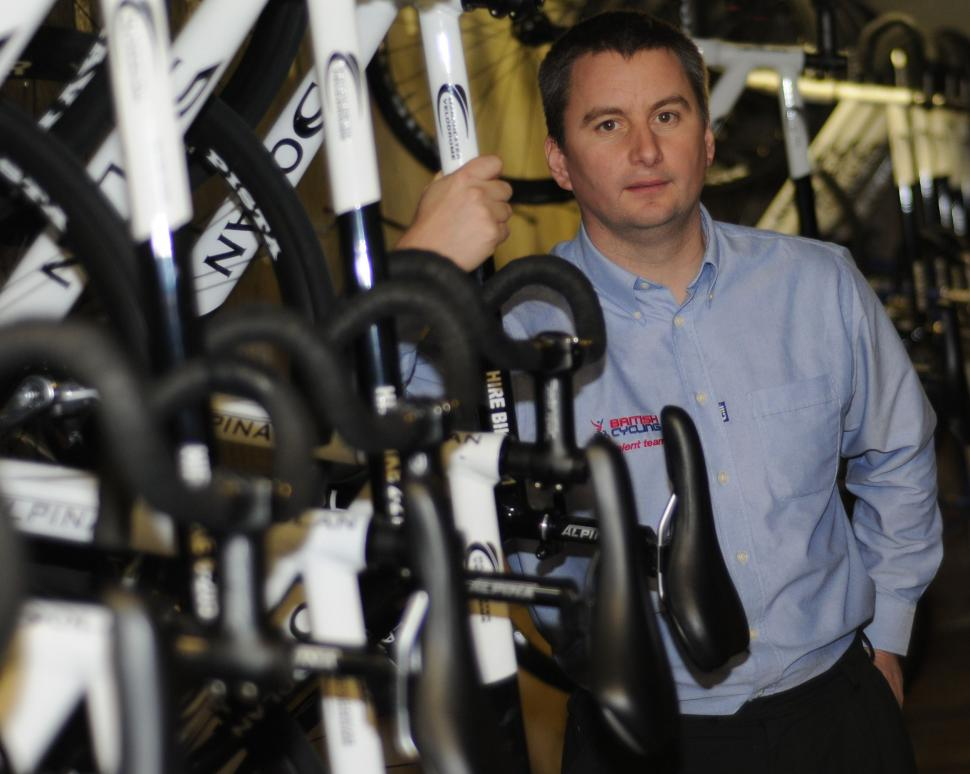 Ian Drake, chief executive designate, British Cycling