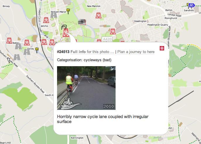 CycleStreets Photomap screengrab.png