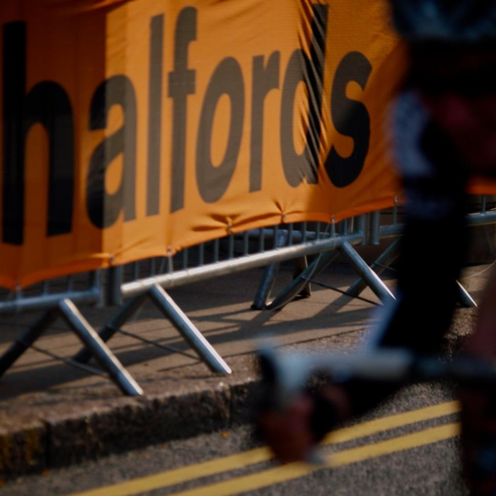 Halfords barrier logo (copyright Simon MacMichael).jpg