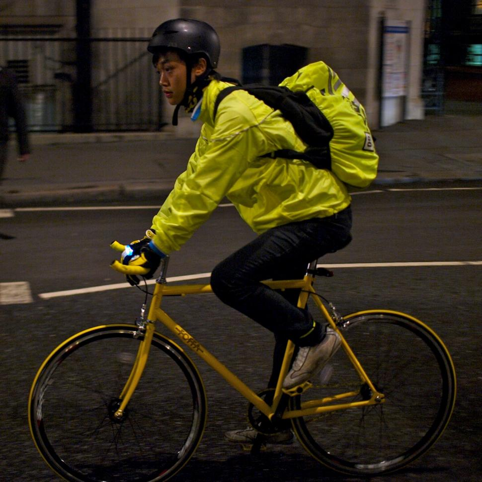 Study Says Cyclists Should Make Themselves Seen But