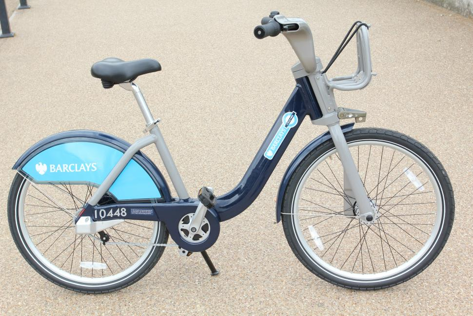Barclays Cycle Hire scheme bike