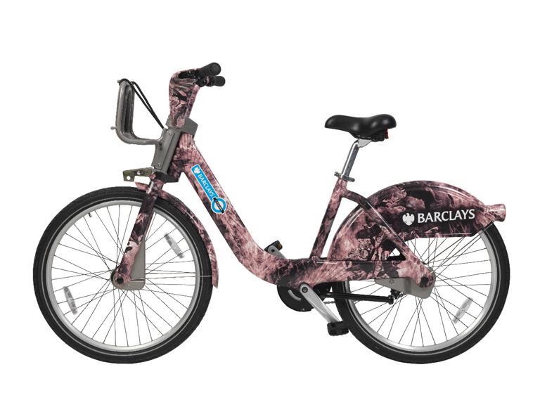 Barclays Cycle Hire Braganza bike
