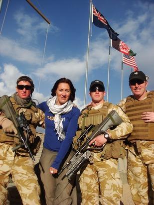 Kylie Phaup-Stephens with NZ troops in Afghanistan.jpeg