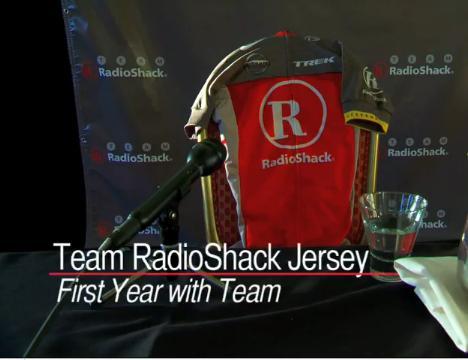 RadioShack jersey vid