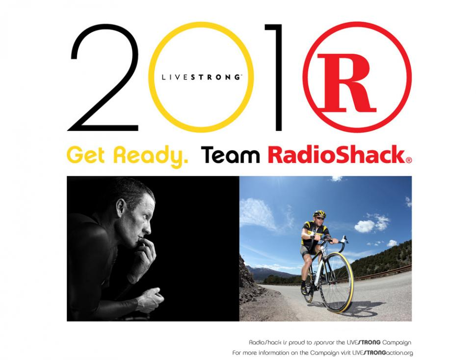 Team RadioShack homepage