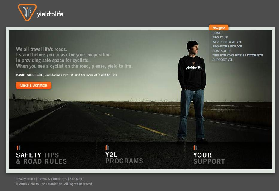 Yield to life website