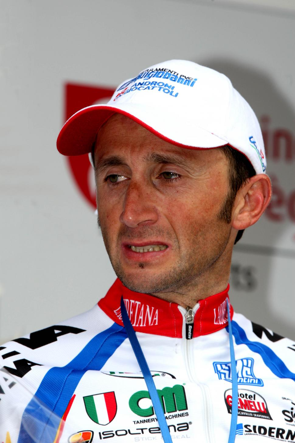 Davide Rebellin after winning the 2009  Fleche Wallone (© Photosport International)