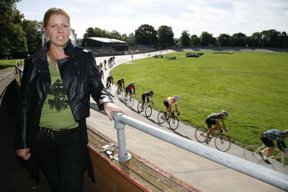 Save the Herne Hill Velodrome campaign's Hillary Peachey.jpg