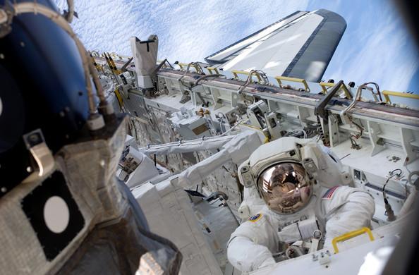 Tim Kopra undertaking a spacewalk at the International Space Station (picture credit NASA).jpg