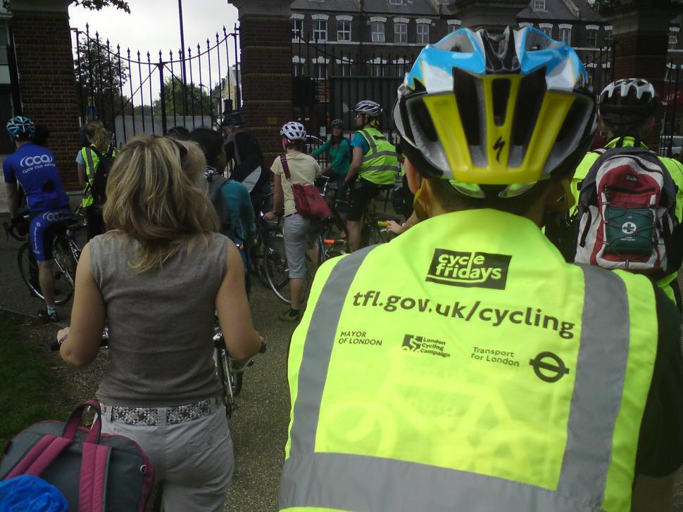 Cycle Friday, Finsbury Park - St. Pauls London