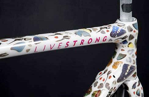 Lance Armstrong Auction Damien Hirst Butterfly Bike