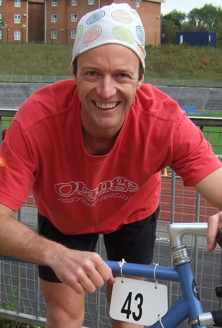 Sustrans' Jason Falconer