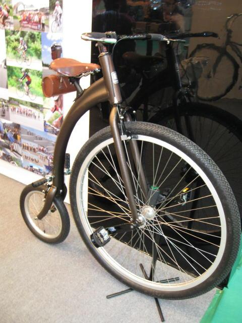 Charge Mangle prototype (production versions have a larger rear wheel)