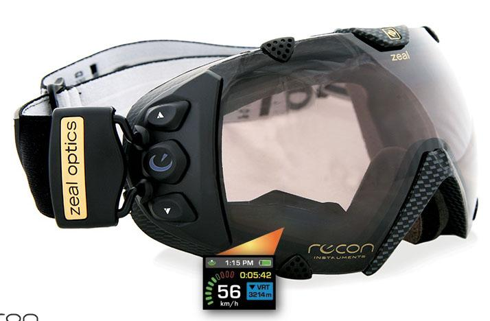 Zeal Transcend GPS goggle