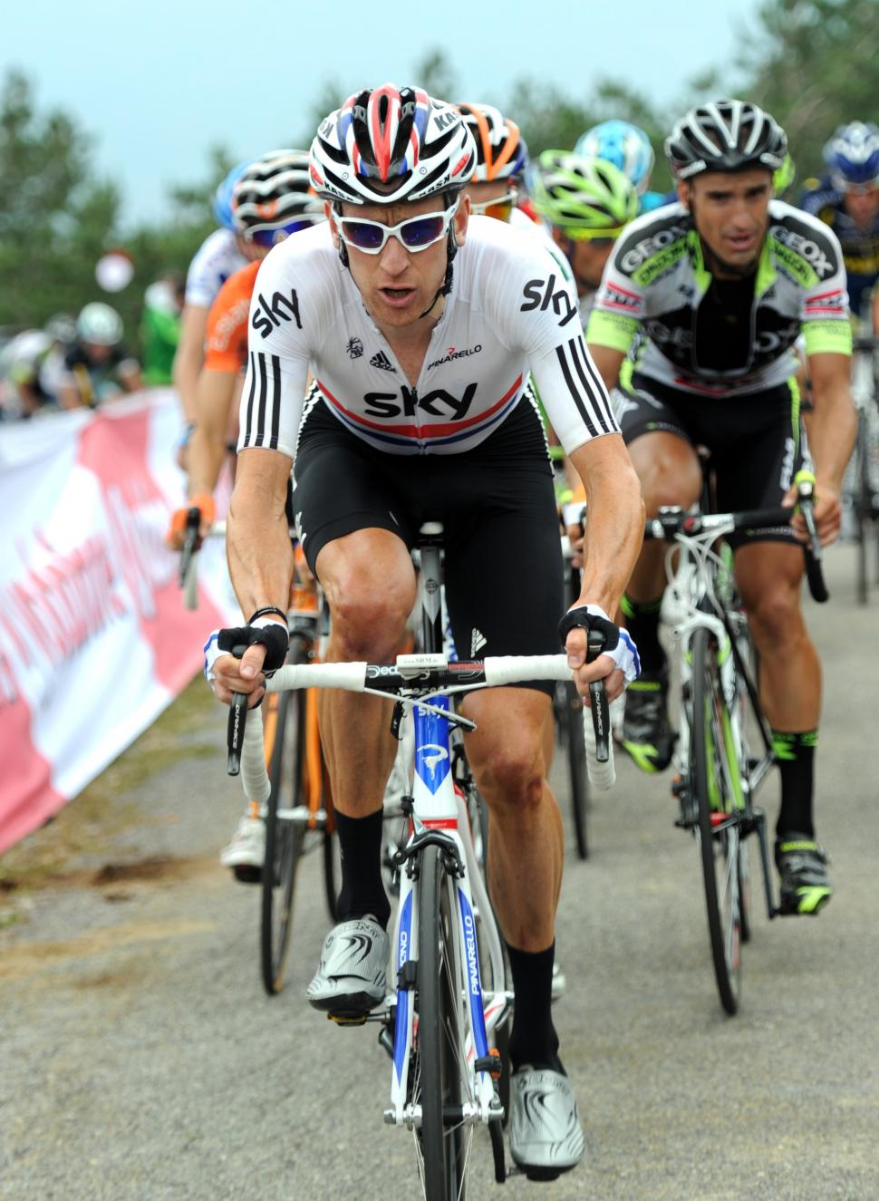 Bradley Wiggins chases during the Vuelta (copyright: Tour of Spain/Graham Watson).jpg