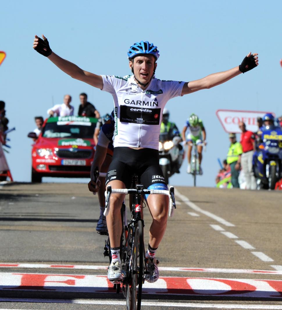 Dan Martin takes Stage 9 of the 2011 Vuelta (copyright: Tour of Spain/Graham Watson).jpg