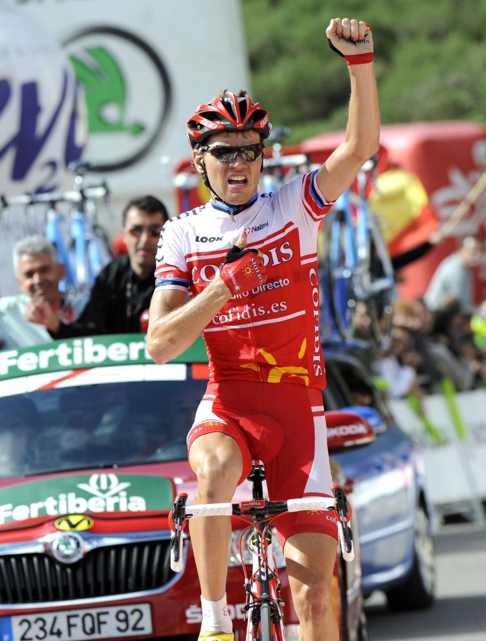 Rein Taaramae wins 2011 Vuelta Stage 14 (copyright: Tour of Spain/Graham Watson).jpg