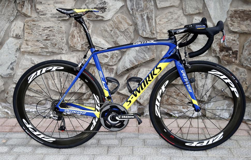 2014 Worldtour Bikes Tinkoff Saxo S Specialized Tarmac Sl4 And