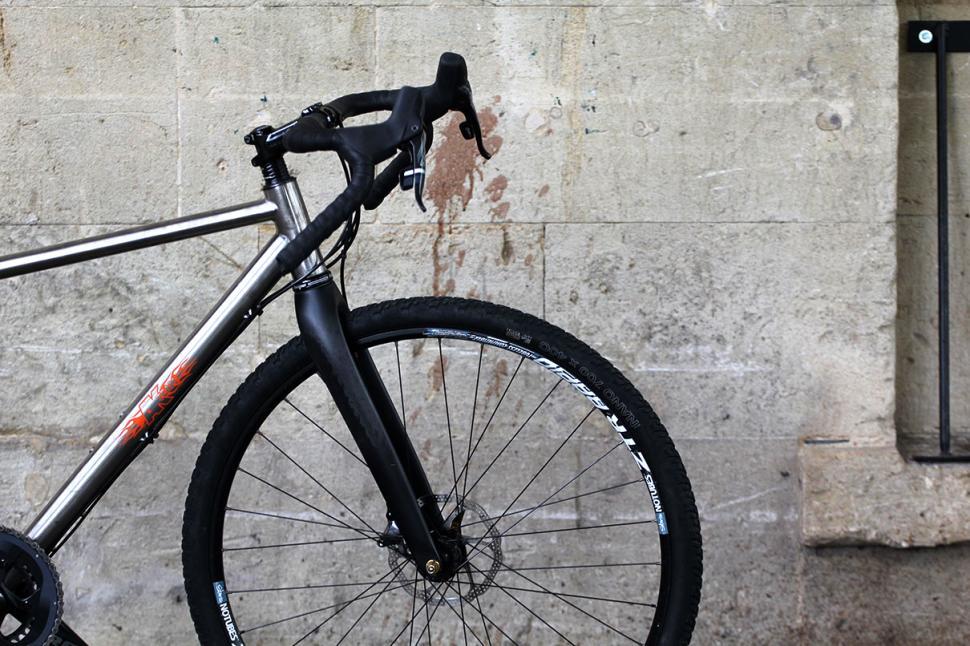 Bike Shop Nottingham >> Alpkit Sonder Camino titanium adventure bike - first ride ...