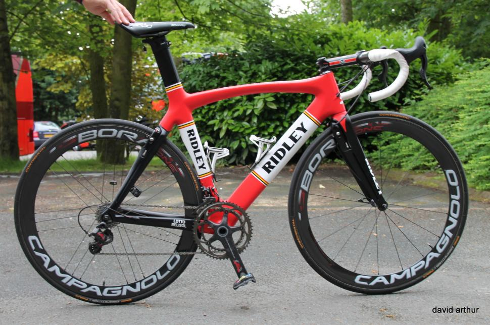 Tour De France Tech 2014 Andre Greipel S Ridley Noah Fast And