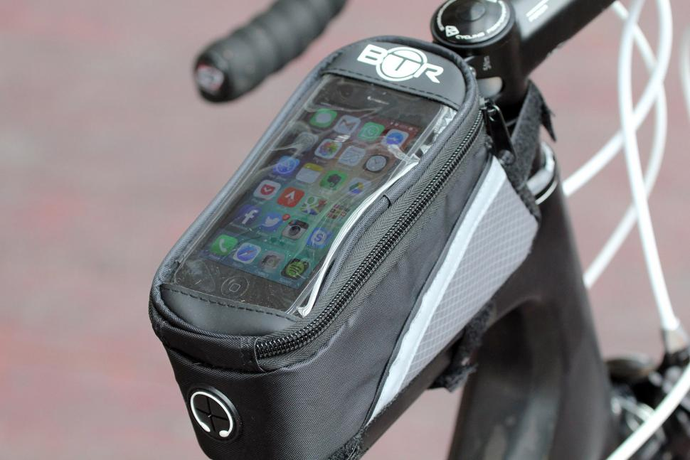 Review Btr Water Resistant Frame Bike Bag And Mobile Phone Holder
