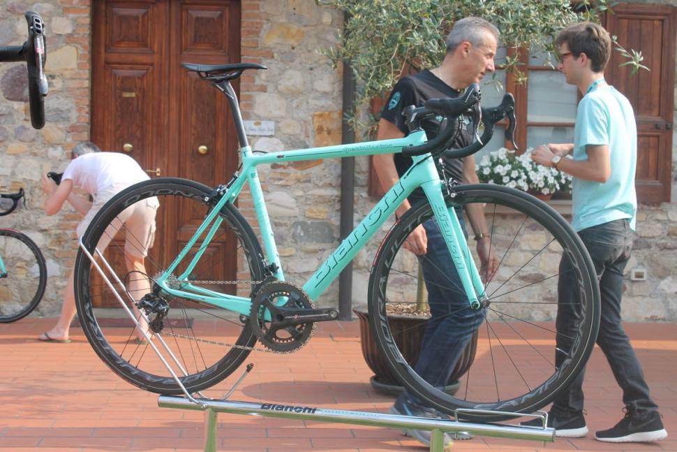 Bianchi Launch Specialissima Road Bike With Countervail