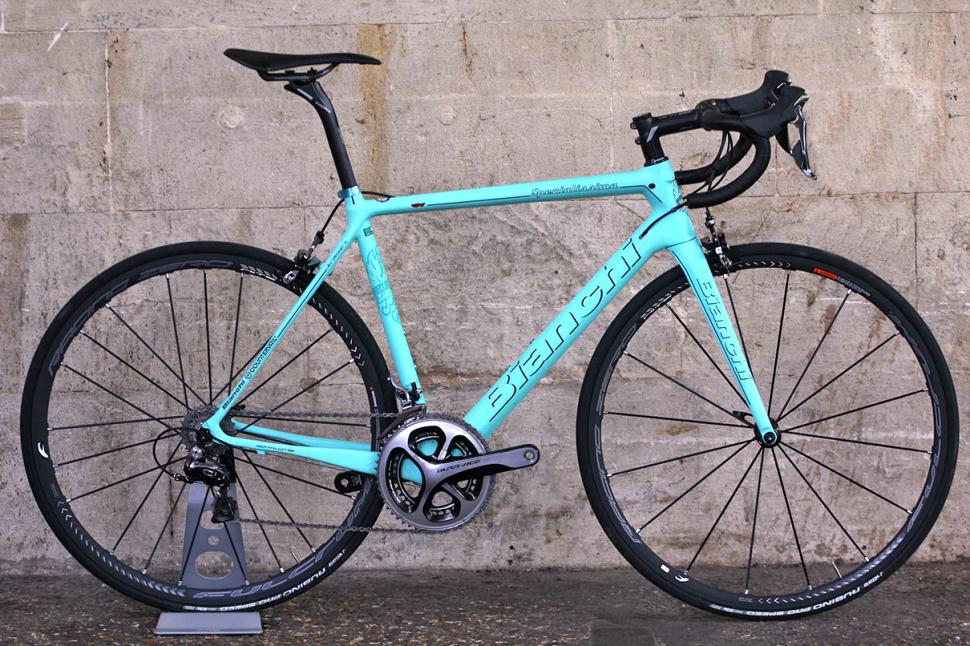 Review Bianchi Specialissima Road Cc
