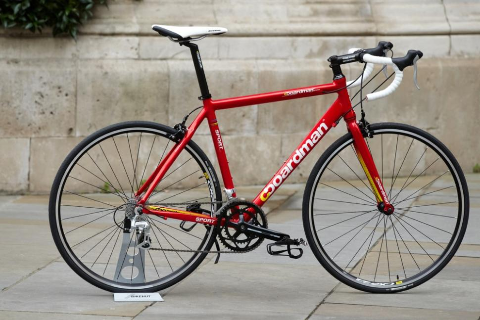 Boardman Launch Three Sub 500 Bikes