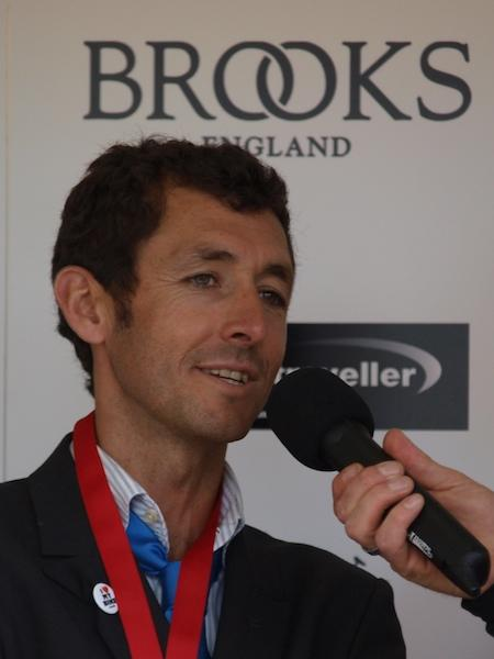 Roberto Heras after winning the 2009 Brompton World Championship