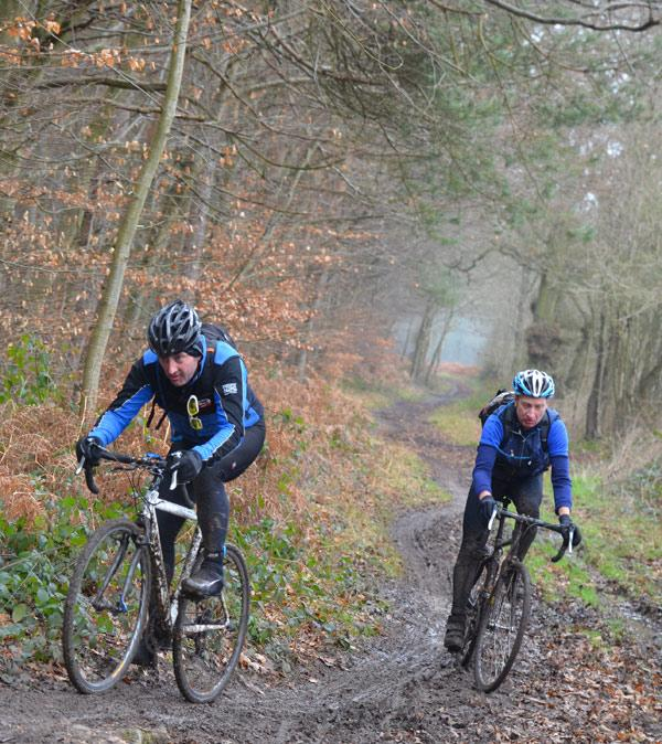 Woodcote CX - MAMILs in the mud