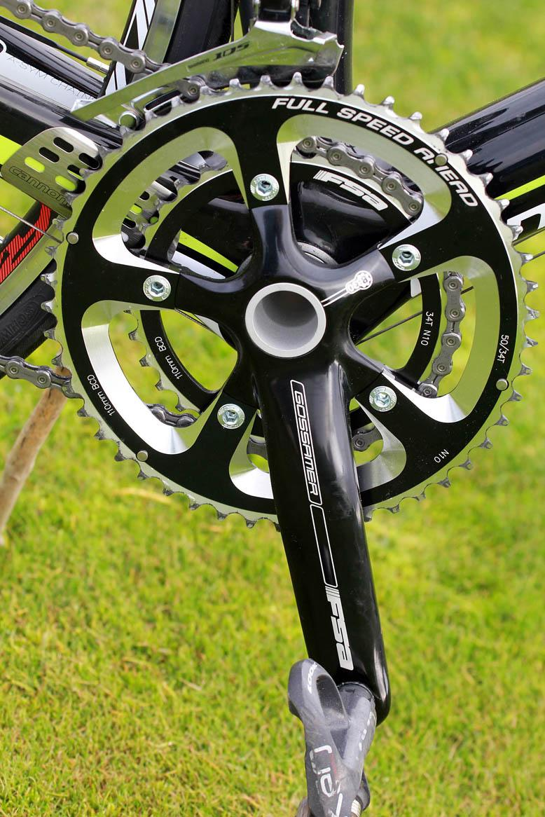 Cannondale SuperSix 105 - chainset