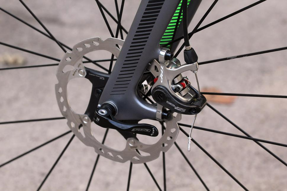 Canyon Inflite AL - front disc brake