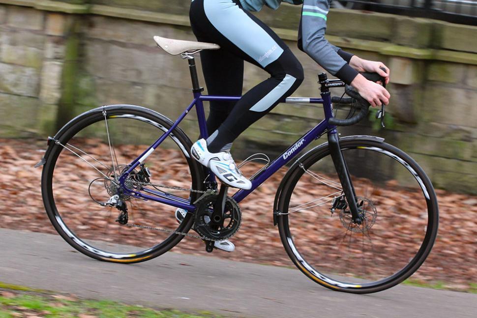 Review Condor Fratello Disc Road Bike Road Cc