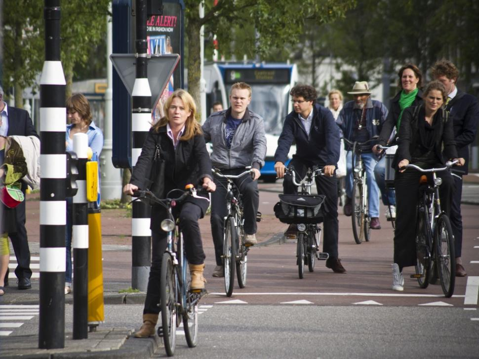 Sheer volume of cyclists causing congestion and crashes on ...