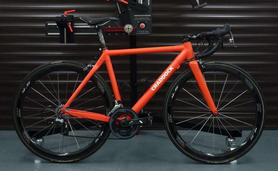 Craddock Cycles Offer Made In The Uk Carbon Fibre Frames
