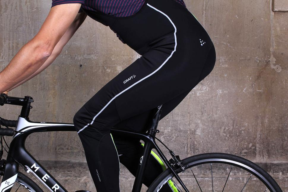 Craft Storm Bib Tights - on bike