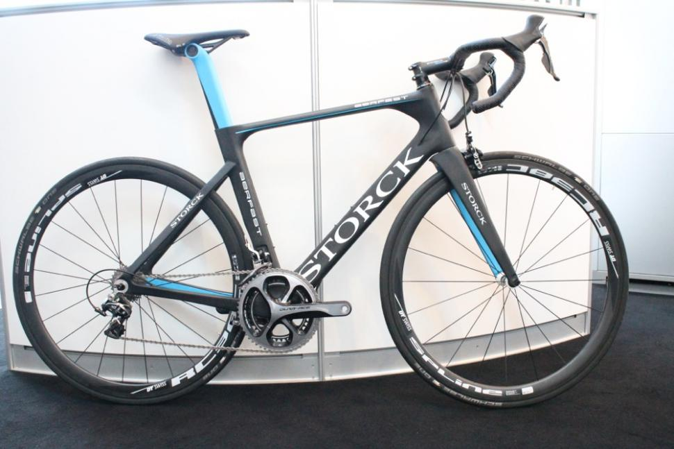 storck shaves weight from aero bike with new aerfast g1. Black Bedroom Furniture Sets. Home Design Ideas