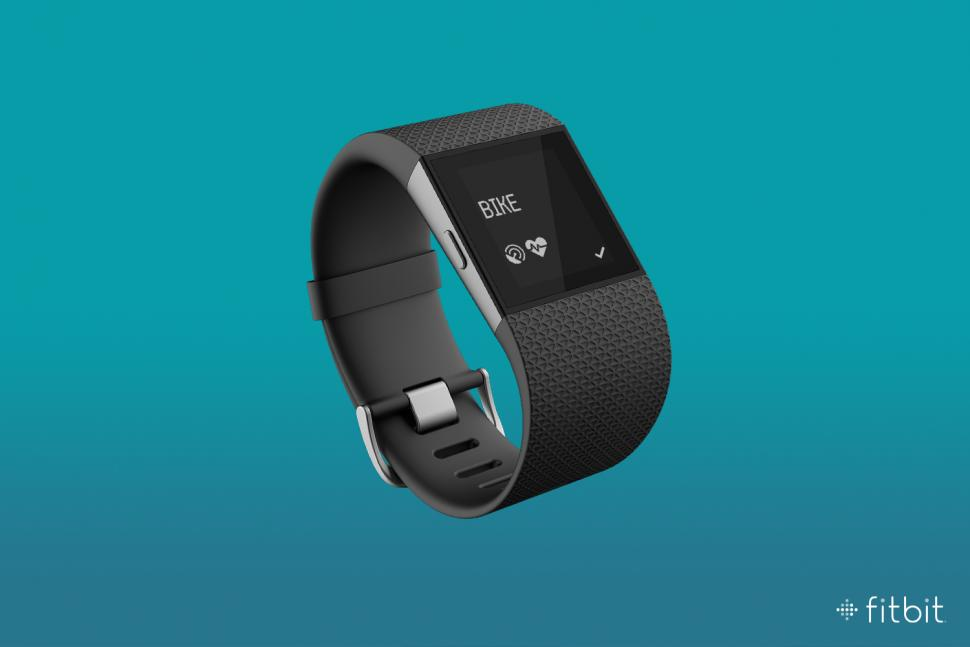 Fitbit Surge activity tracker with GPS now offers cycling ...